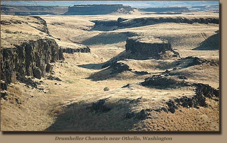a paper on the channeled scab lands of eastern washington American geologist j harlen bretz (1882-1981), who mapped the scablands, proposed in various papers bretz, j h (1928): channeled scabland of eastern washington.