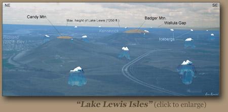 Lake Lewis Isles by Bruce Bjornstad