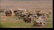 Rock Quarry Camas Prairie Montana Mining