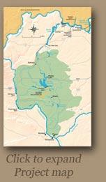 Bureau of Reclamation Project Map