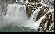 Shoshone Falls Bonneville Floods
